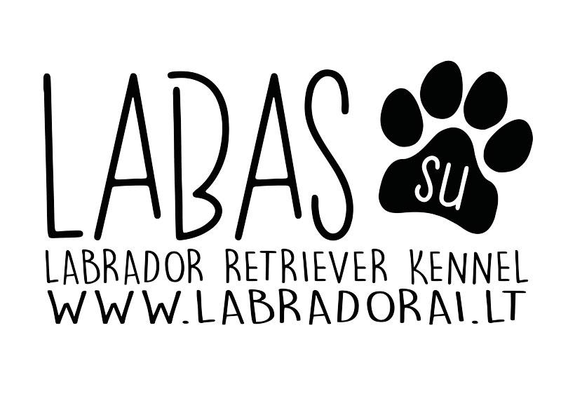 Labas Su labradorai.lt Logo